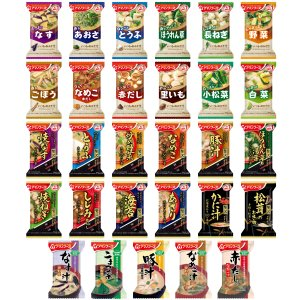 アマノフーズ フリーズドライ 味噌汁 全33種 詰め合わせ セット 即席みそ汁 インスタント味噌汁 無添加 入り キャッシュレス 還元 お歳暮 ギフト|e-monhiroba|04