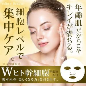 ヒト幹細胞エキス配合 日本製 美容フェイスマスク|e-mono-base