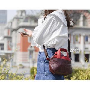 ハンドバッグ ショルダーバッグ 2WAY レディース 軽い 本革 馬革 ポケット キュート コンパクト 軽量 paccapacca|e-mono-online|11