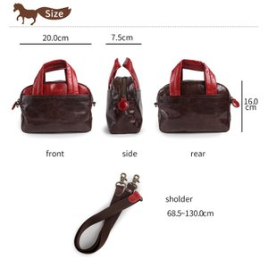 ハンドバッグ ショルダーバッグ 2WAY レディース 軽い 本革 馬革 ポケット キュート コンパクト 軽量 paccapacca|e-mono-online|05