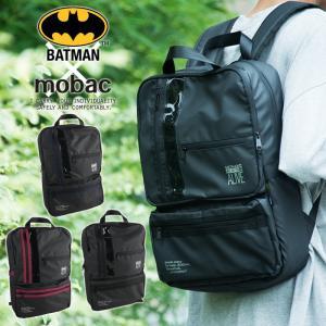 リュックサック バックパック バットマン メンズ A4 大容量 軽量 アメコミ ワーナー BATMAN クッションポケット mobac e-mono-online