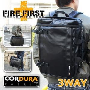 3way リュックサック ショルダーバッグ ビジネスバッグ ブラック 黒 コーデュラ|メンズ|FIRE FIRST|e-mono-online