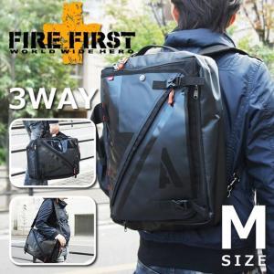 3way リュックサック ショルダーバッグ ビジネスバッグ ブラック 黒 Mサイズ|メンズ|FIRE FIRST|e-mono-online