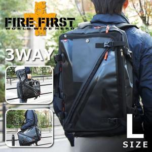 3way リュックサック ショルダーバッグ ビジネスバッグ ブラック 黒 Lサイズ|メンズ|FIRE FIRST|e-mono-online