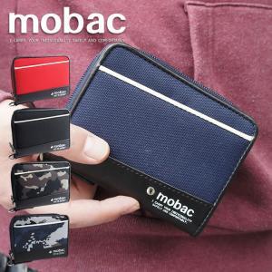 財布 メンズ 二つ折り ラウンドファスナー 小銭入れ付き 二つ折り財布 ツートンカラー 迷彩 カモフラージュ mobac active|e-mono-online