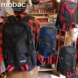 リュックサック デイパック バッグ メンズ レディース デザイン 大容量 軽量 丈夫 ポケット スマート mobac|e-mono-online