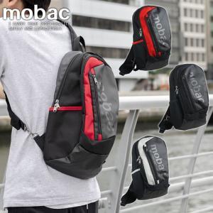 ボディバッグ ワンショルダー メンズ 軽量 斜めがけ スマート クッションポケット メッシュ かっこいい mobac|e-mono-online