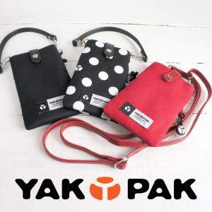 ショルダー付きスマホポーチ メンズ レディース ヤックパック YAKPAK【エントリーでポイント10倍】 e-mono-online