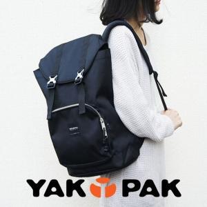 リュックサック バックパック ブラック 黒|メンズ レディース|ヤックパック YAKPAK|e-mono-online