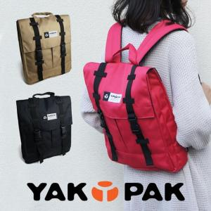 リュックサック スクエアバッグ デイパック メンズ レディース ヤックパック YAKPAK【エントリーでポイント10倍】 e-mono-online