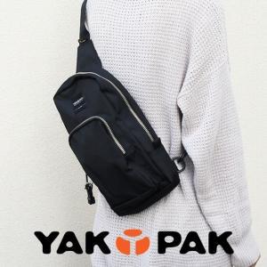 ボディバッグ ワンショルダー|メンズ レディース|ヤックパック YAKPAK【エントリーでポイント10倍】|e-mono-online