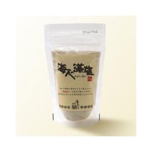 【キャッシュレス5%還元店舗】 海人の藻塩 スタンドパック 100g