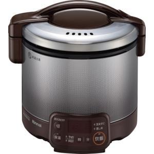 リンナイ 家庭用ガス炊飯器 0.54L タイマー・ジャー付 RR-030VQT(DB) e-mono-ya