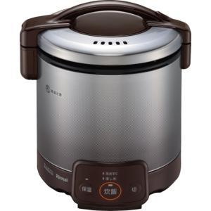 リンナイ 家庭用ガス炊飯器 0.9L ジャー付 RR-050VQ(DB) e-mono-ya