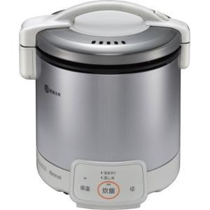 リンナイ 家庭用ガス炊飯器 0.9L ジャー付 RR-050VQ(W) e-mono-ya