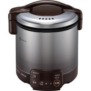 リンナイ 家庭用ガス炊飯器 0.9L タイマー・ジャー付 RR-050VQT(DB) e-mono-ya