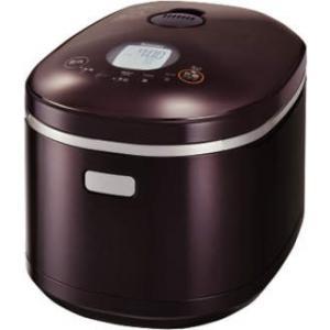 リンナイ家庭用ガス炊飯器 直火匠(じかびのたくみ)1升炊タイマー・ジャー付  専用ガスコード接続【RR-100MST2(DB)】 ダークブラウン e-mono-ya