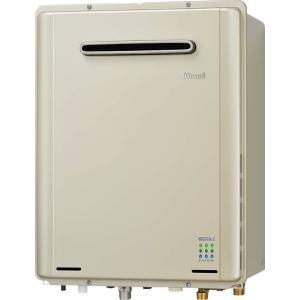 リンナイ ガス風呂給湯器 設置フリータイプ フルオート 屋外壁掛 16号 エコジョーズ 【RUF-E1615AW(A)】|e-mono-ya