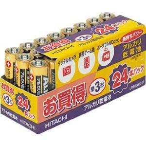 日立 アルカリ乾電池(お買得パック) 単3形(24本入)|e-mono21