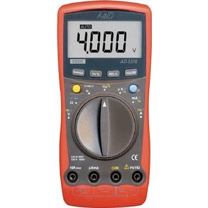 A&D カード型テスター デジタルマルチメーター (PC接続型) AD-5518BP|e-mono21