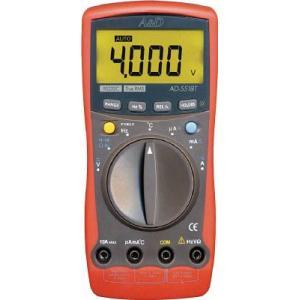 A&D カード型テスター デジタルマルチメーター (PC接続型) AD-5518T|e-mono21