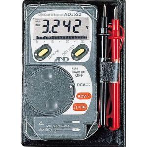 A&D カード型テスター デジタルマルチメーター AD5522|e-mono21