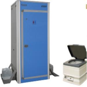アクト石原 組み立て式簡易仮設トイレ+ポータブル水栓トイレ24L e-mono21