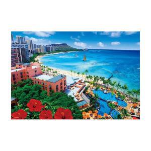 ジグソーパズル 300ピース 風景 輝きのワイキキビーチ 33-103