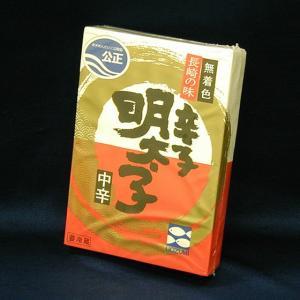 辛子明太子 無着色 中辛  110g e-nagasaki