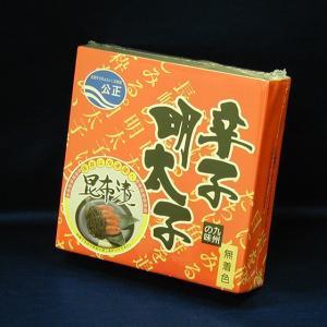 辛子明太子 無着色 昆布漬 300g|e-nagasaki