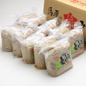 中屋商店謹製 寿みそ1kg 10個セット|e-nagasaki