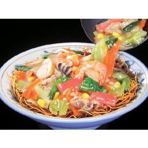 9種類の具付皿うどん(細麺) 1食入|e-nagasaki