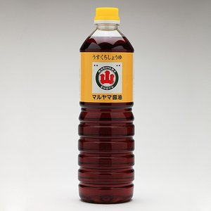 うすくちしょうゆ ペットボトル入1.0L|e-nagasaki