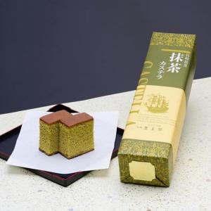 異人堂の抹茶カステラ 0.5号(290g)|e-nagasaki