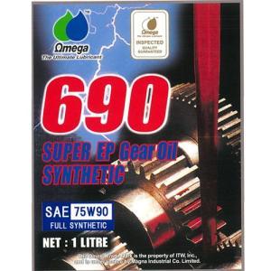 Omega/オメガ ギアオイル 690 レッドラベル SPEC-1 75W−90 1L|e-naniwaya