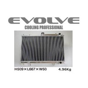 HPI/エイチピーアイ EVOLVE Light SH/エヴォルブ ライト エスエイチ ラジエター スカイラインGT-R/BCNR33 商品番号:HPARE-BCNR33SH|e-naniwaya