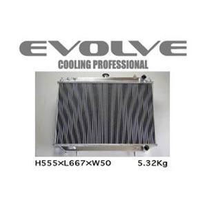 HPI/エイチピーアイ EVOLVE Light SH/エヴォルブ ライト エスエイチ ラジエター スカイラインGT-R/BNR34 商品番号:HPARE-BNR34SH|e-naniwaya