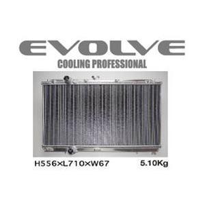 HPI/エイチピーアイ EVOLVE Light SH/エヴォルブ ライト エスエイチ ラジエター ランサー/CN9A、CP9A 商品番号:HPARE-CP9ASH|e-naniwaya