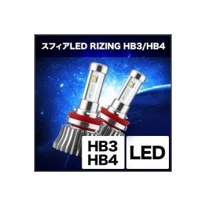 SPHERE LIGHT/スフィアライト LEDコンバージョンキット RIZING 5500K HB3/HB4タイプ 商品番号:SHCQW055|e-naniwaya