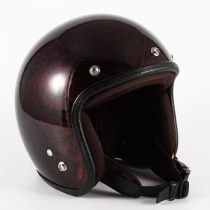 72JAM(ジャムテックジャパン) ジェットヘルメット72JAM JET RASH(レッド/ブラウン) [JCP-20]|e-net