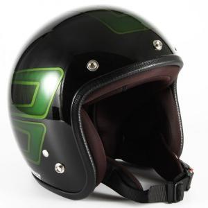 72JAM(ジャムテックジャパン) ジェットヘルメット72JAM JET SCALLOP(グリーン) [JCP-31]|e-net