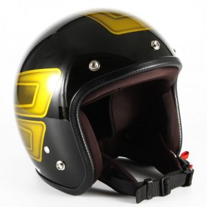 72JAM(ジャムテックジャパン) ジェットヘルメット72JAM JET SCALLOP(イエロー) [JCP-32]|e-net