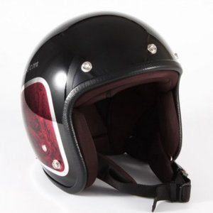 72JAM(ジャムテックジャパン) ジェットヘルメット72JAM JET WEED(レッド) [JCP-35]|e-net