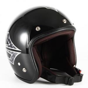72JAM(ジャムテックジャパン) ジェットヘルメット72JAM JET Spindle(ミッドナイトブラック) [JCP-39]|e-net