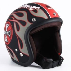 72JAM(ジャムテックジャパン) ジェットヘルメット72JAM JET ROCK&ROLL(マットブラック) [JJ-06]|e-net