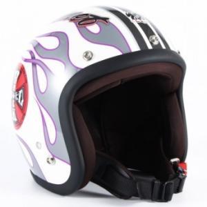 72JAM(ジャムテックジャパン) ジェットヘルメット72JAM JET ROCK&ROLL(ホワイト) [JJ-07]|e-net
