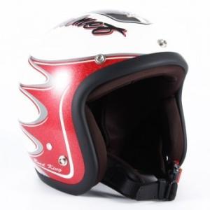 72JAM(ジャムテックジャパン) ジェットヘルメット72JAM JET RODKIN(ホワイト) [JJ-08]|e-net