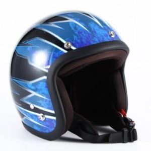 72JAM(ジャムテックジャパン) ジェットヘルメット72JAM JET STING(ブルー) [JJ-17]|e-net