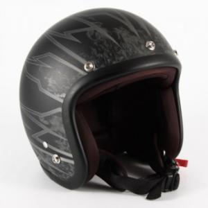 72JAM(ジャムテックジャパン) ジェットヘルメット72JAM JET STING(マットブラック) [JJ-18M]|e-net