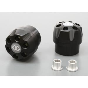 ギルズツーリング IPパッド(フレームスライダー) ブラック BMW K1200R 04-08/K1300R 09(IP-BM01-B)|e-net